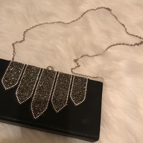 bebe Handbags - BEBE Rhinestone Purse